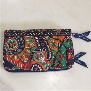 Vera Bradley cloth large wallet new beautiful